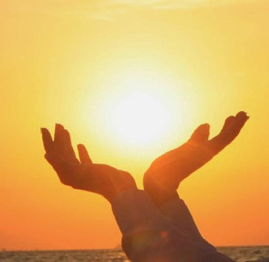Hands Sun Worshiper