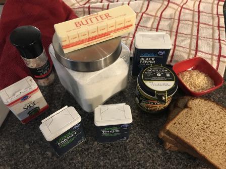 stuffing ingredients